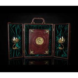 Подарочный набор «Рыбалка»: книга с накладками, бокалы для коньяка, кейс