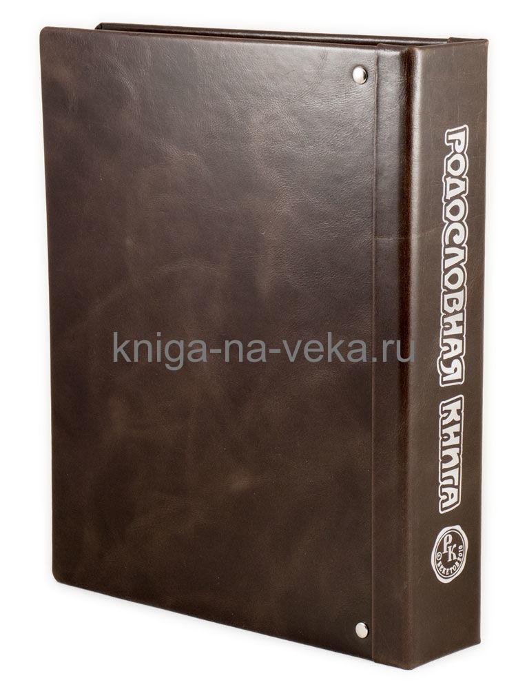 Родословная книга «Модерн» в кожаной обложке