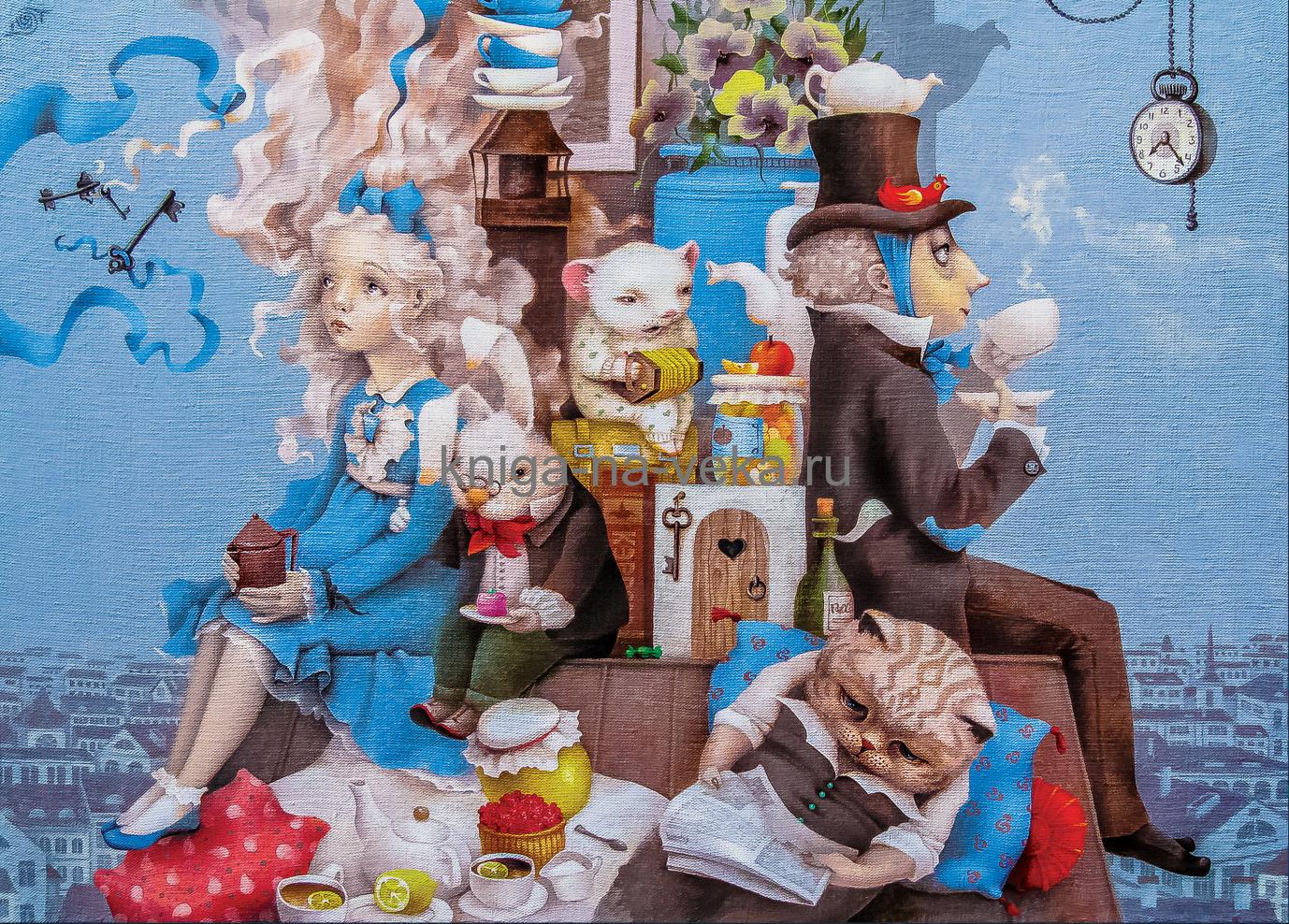 Деревянные пазлы DaVici. Третья коллекция. Безумное чаепитие.