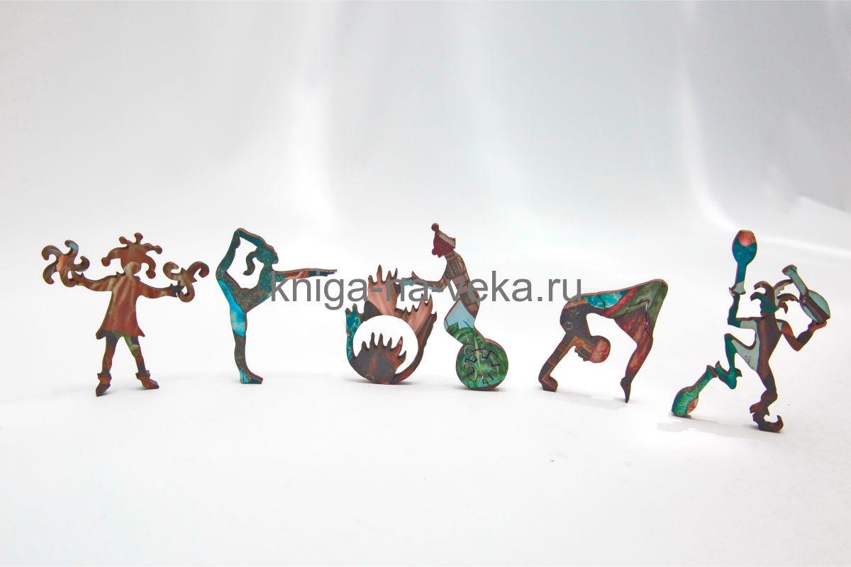 Деревянные пазлы DaVici. Первая коллекция. Жонглёры.