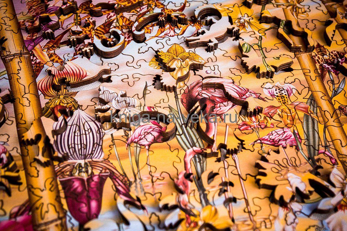 Деревянные пазлы DaVici. Первая коллекция. Великое искусство света и тени.