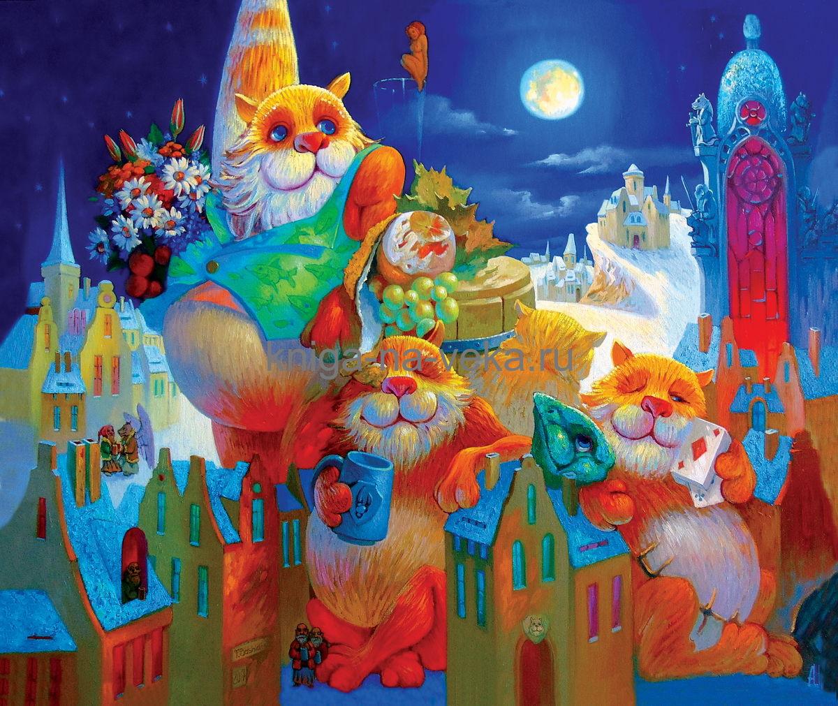 Деревянные пазлы DaVici. Первая коллекция. Праздник полной луны.