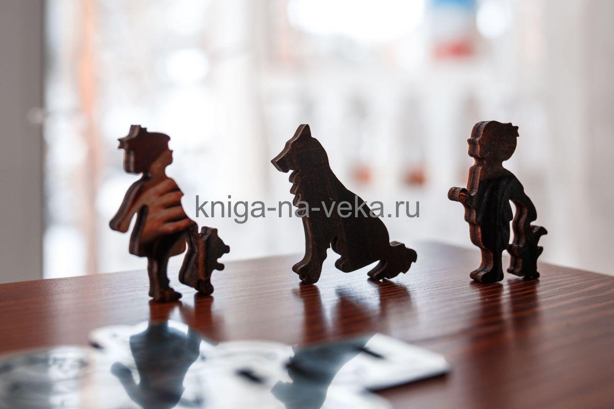 Деревянные пазлы DaVICI. Премиум-коллекция. Боярин перед походом.