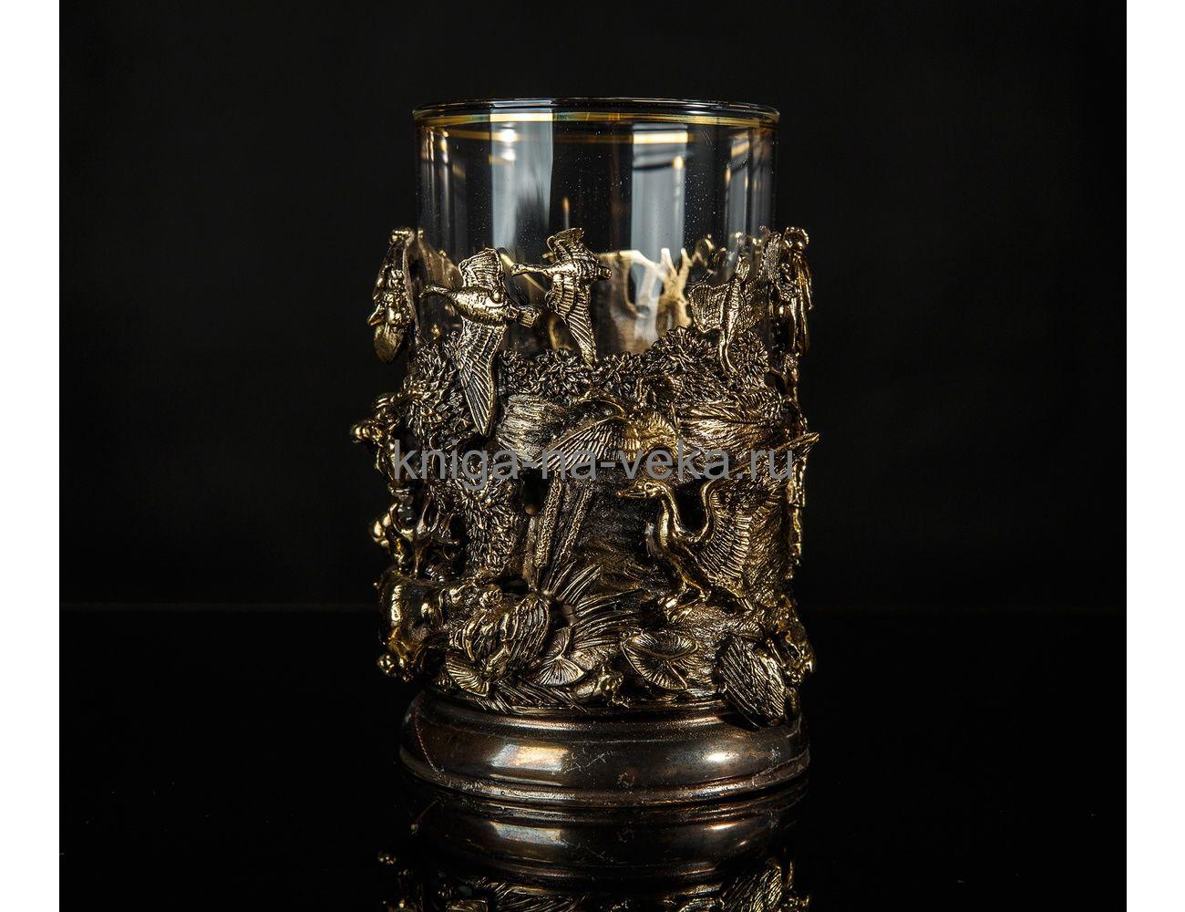 Подстаканник «Охота на уток» (3D)