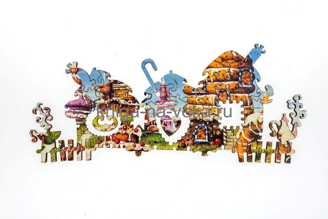 Деревянные пазлы DaVici. Вторая коллекция. Бисквитные горки.