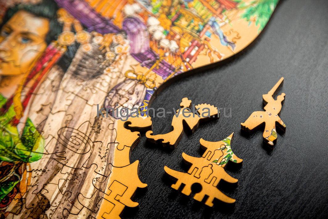 Деревянные пазлы DaVici. Вторая коллекция. Япония.