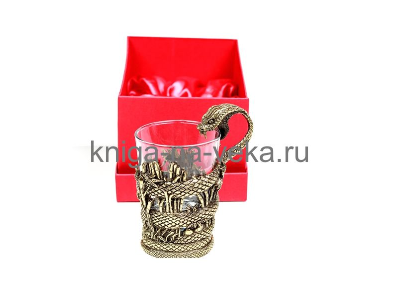 Стакан для виски «Змей»